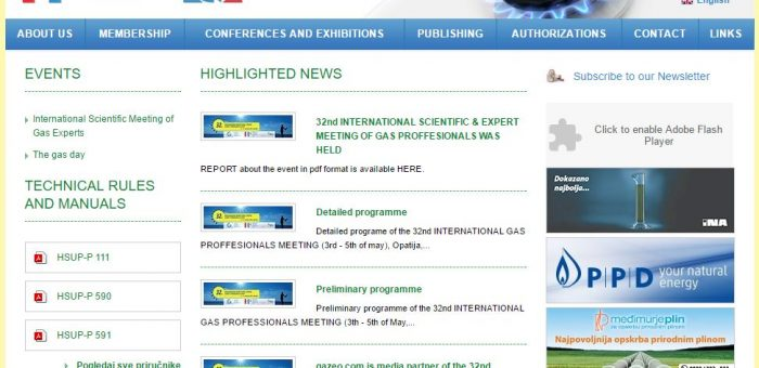 Report on the 32nd International Scientific and Expert Meeting of Gas, 29 May 2017