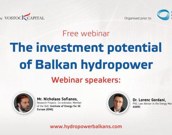 "Webinar Record ""Investment Potential of Balkan HPP"", Vostock Capital"", 20th June 2017"
