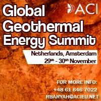 Global Geothermal Energy Summit 2017 by ACI, on 29-30 November, Netherlands