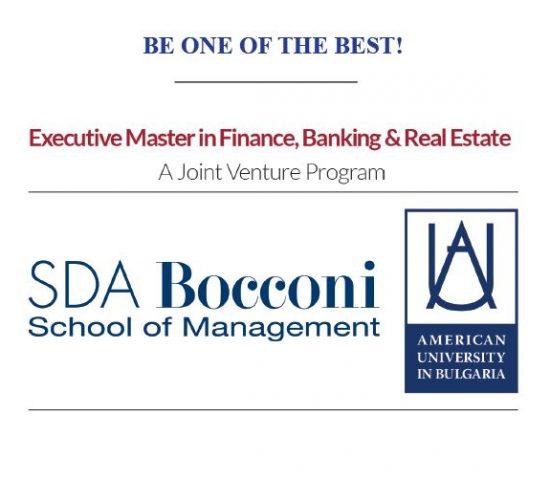 Business School Worldwide for Custom Program by SDA Bocconi and American University in Bulgari