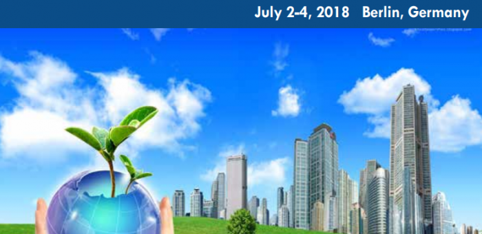 World Bioenergy Congress and Expo, Conferences series LLC, July 2-4, 2018, Berlin