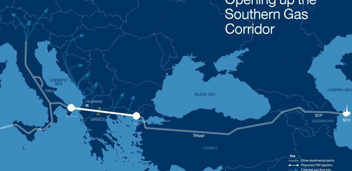 2/3 of TAP gas pipeline cleared in Greece and Albania, by Keep Talking Greece, on August 9, 2017