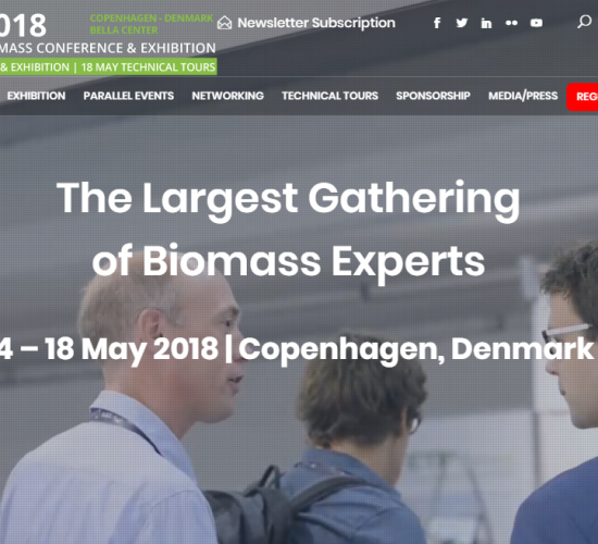 26th European Biomass Conference and Exhibition, Copenhagen