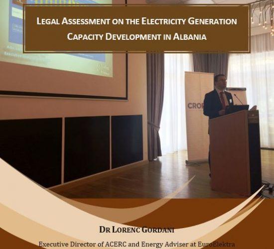Report Release on Electricity Generation Capacity Development