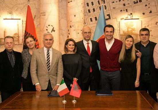 Italian Cooperation funds Tirana's Orbital Forest in 23 different areas, Scan 8th January 2018