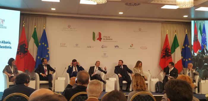 Albania courts Italian industry with low taxes