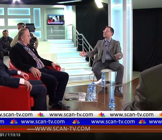 """Emisioni """"Përballje"""" nga Mateo Spaho ne Scan TV, me 1 Shkurt 2018"""
