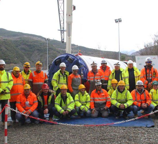 TAP starts work on micro tunnel in Albania