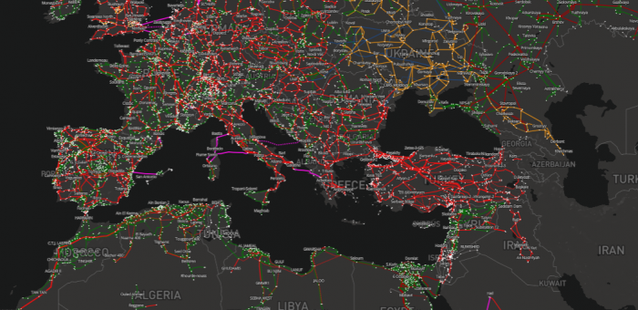 Press release: First joint Med-TSO & ENTSO-E Euro-Mediterranean grid map
