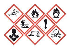 Priser varningsetiketter