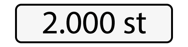 2000 st