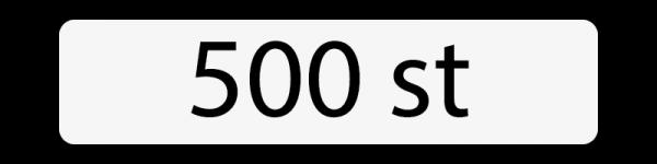500 st