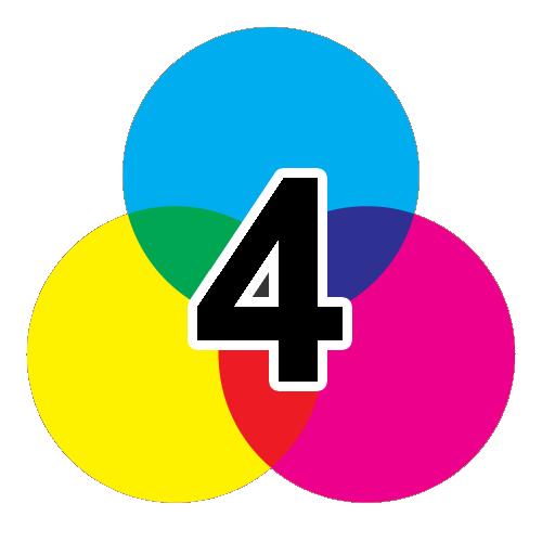 4-färgtryck