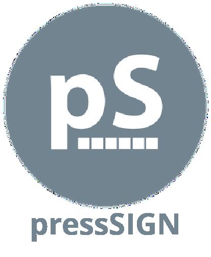pressSIGN