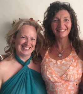Alexandra Langeveld en Gayatri Beegan