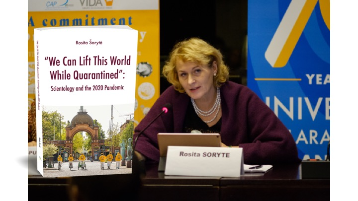 Expert Rosita Šorytė launches new book on Scientology and the 2020 pandemic