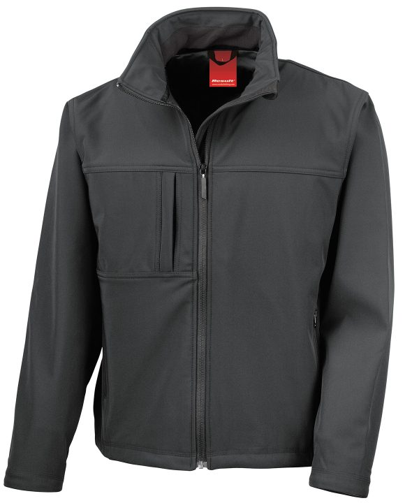R121A Softshell Jack Black