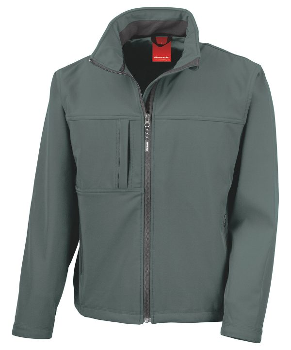 R121A Softshell Jack Grey