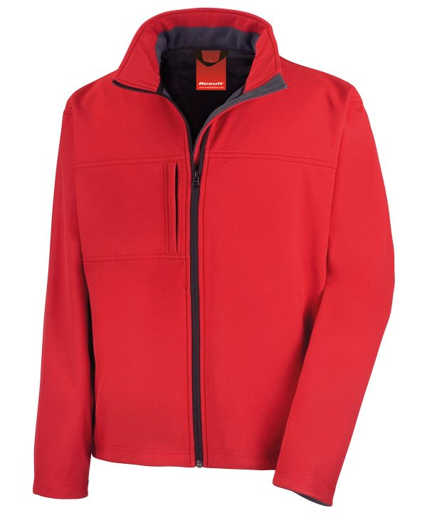 R121A Softshell Jack Red
