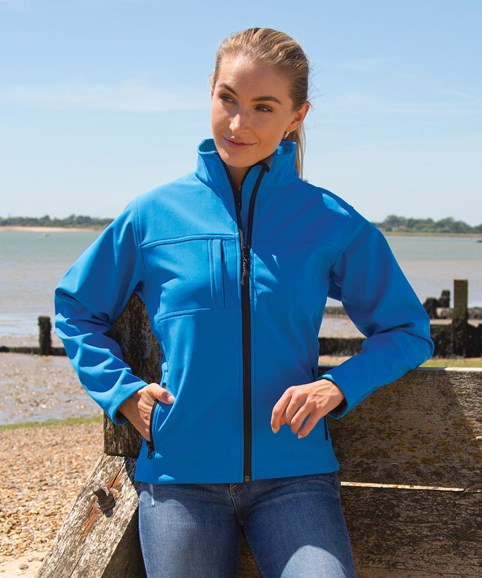 R121F softshell jacket azure 01