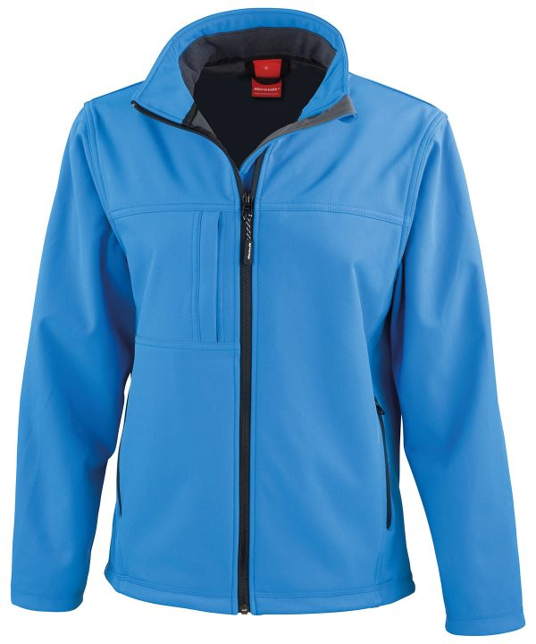 R121F softshell jacket azure