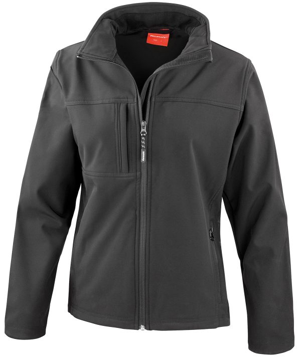 R121F softshell jacket black 01