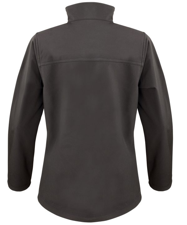 R121F softshell jacket black back 01