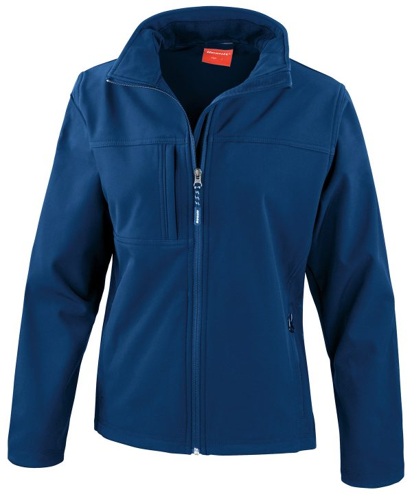 R121F softshell jacket navy