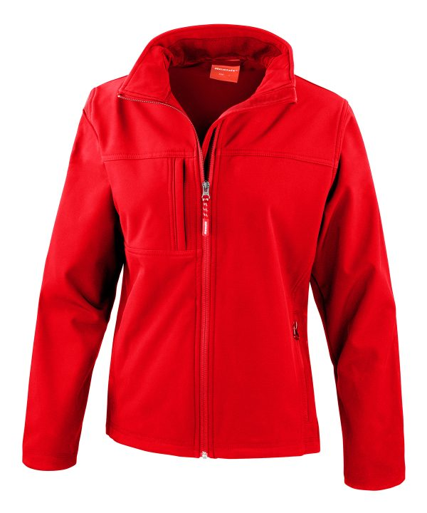 R121F softshell jacket red 01