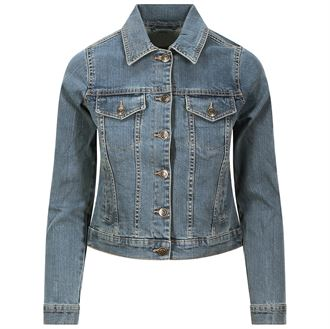 SD065 Denim jacket light blue wash 02