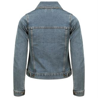SD065 Denim jacket light blue wash 03