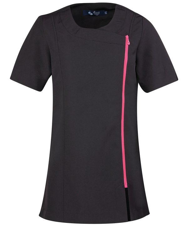 Beauty Tunic Black Hotpink