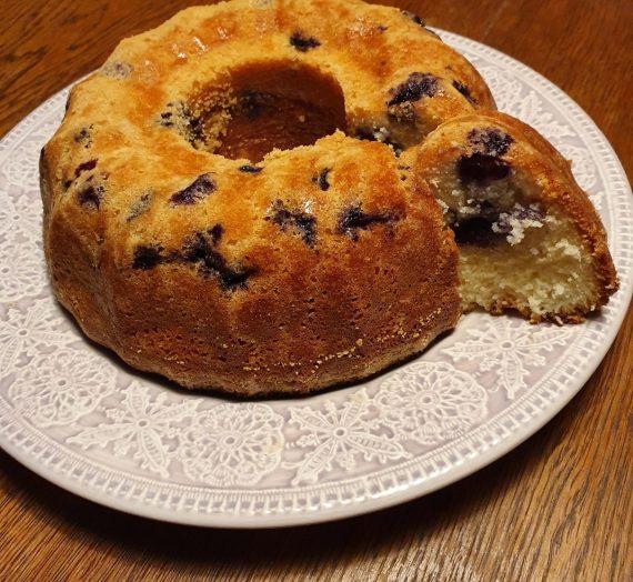 Blåbärssockerkaka (glutenfri)
