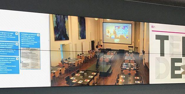TEKDEB17 – a multi-hub meeting