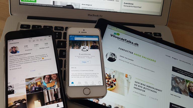 EventAnne on all social media