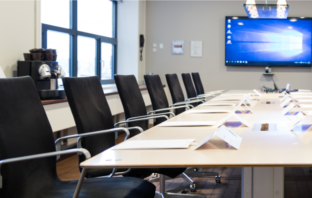 Meetings and events: Welcome to the C-suite