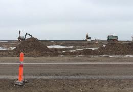 Landvindings projektet i Nordhavnen 13. januar 2017