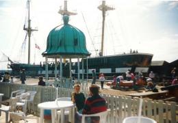 Fregatten Jylland sommeren 1993
