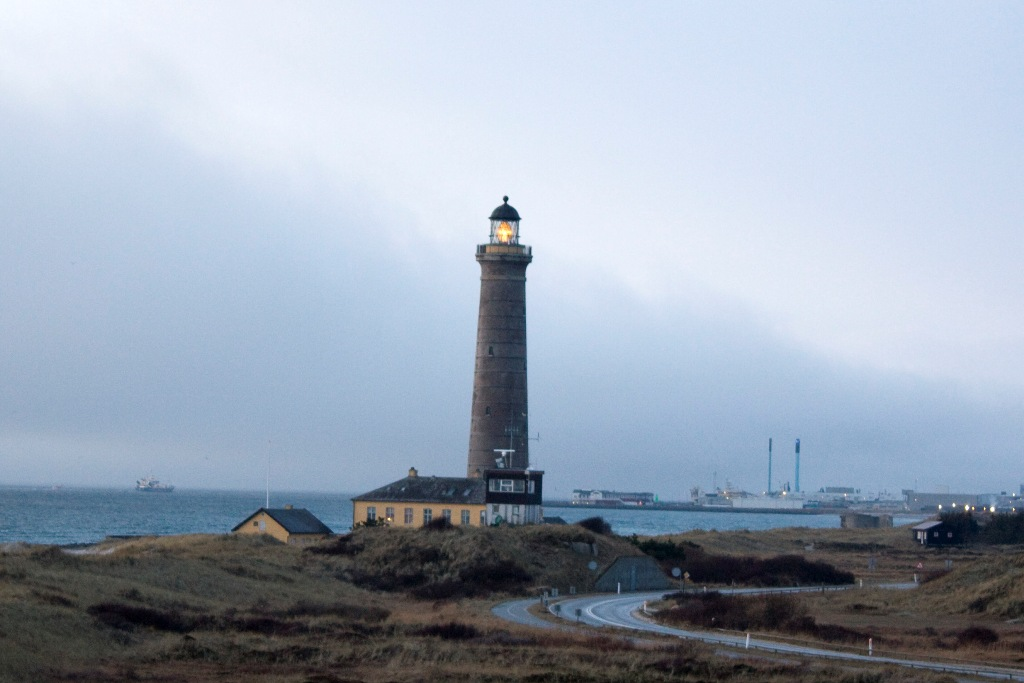 Skagen Fyr 29.12.2009