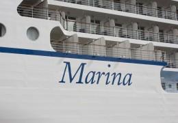 Marina ved Lange Linie 14. august 2013