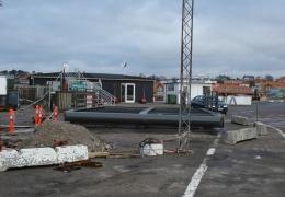 Den nye broklap til Isefjord 19. februar 2012