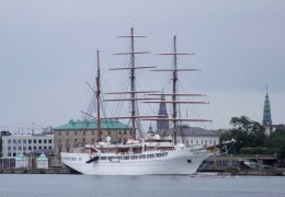 Sea Cloud II 29. juni 2014