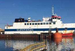 Sejerøfærgen 23. juli 2019