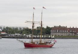 Skonnerten Lilla Dan 3. juni 2014