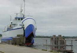 Søby-Færgen 22. juli 2008