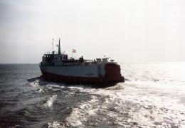 Søby-færgen i dens gamle udseende - 30.09.1994
