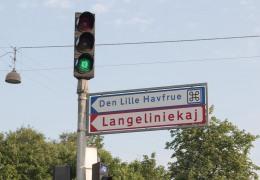 På vej til Lange Linie 31. maj 2016