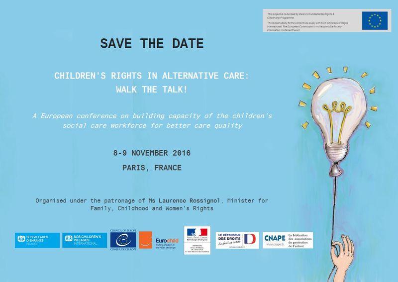 Fairstart attends Eurochild's ''Children's Rights in Alternative Care''-conference in Paris