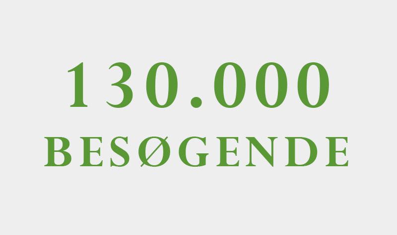 130.000 hjemmesidebesøg
