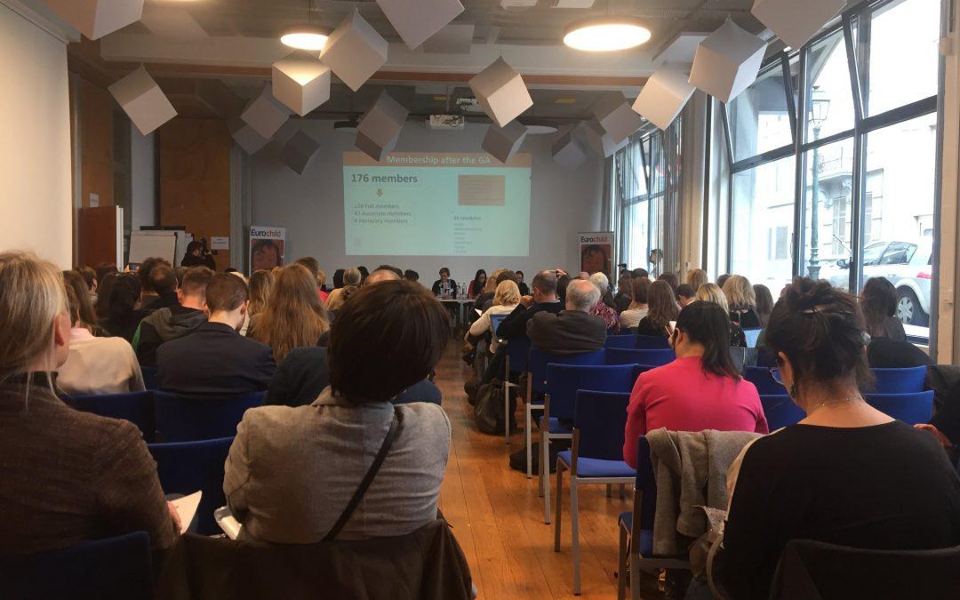 Fairstart til EUROCHILD konference i Bruxelles